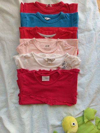 Bluzeczki dziecięce r. 74