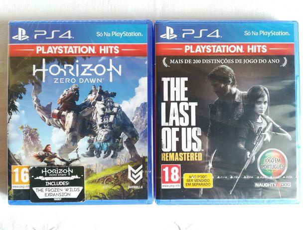 Horizon Zero Dawn/The Last of Us  (Selados) - Ps4/Playstation 4