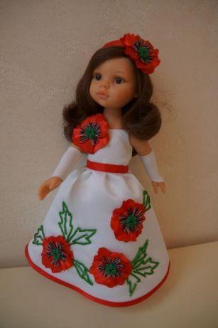 Кукла лялька подружка Кэрол Паола Рейна PAOLA REINA, 32 см., Русановка