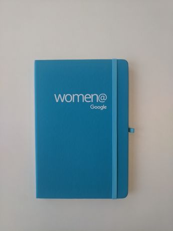 2 turkusowe notesy Women Google
