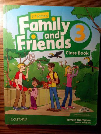 Учебник по Английскому 3 класс Family and Friends 2nd edition+Диск