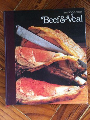 Livro de receitas de cozinha carne Time Life (em Inglês)