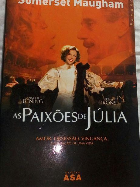 Livro As paixões de Júlia