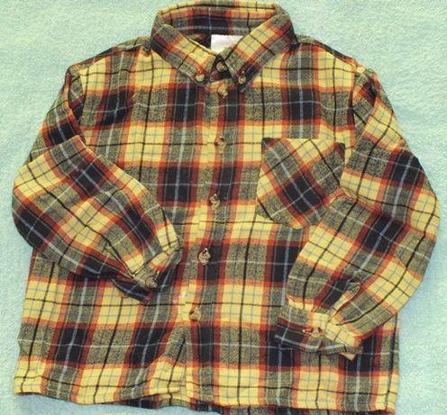 koszula flanelowa 98
