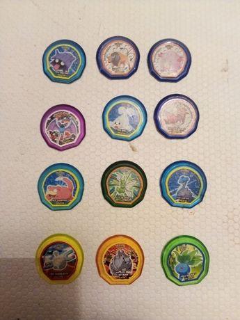 Tazos de várias colecções da Panini