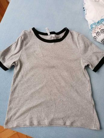 Szara bluzka H&M