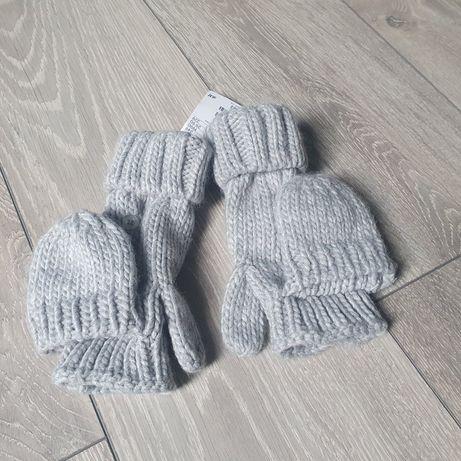 Nowe rękawiczki zimowe h&m 134-152
