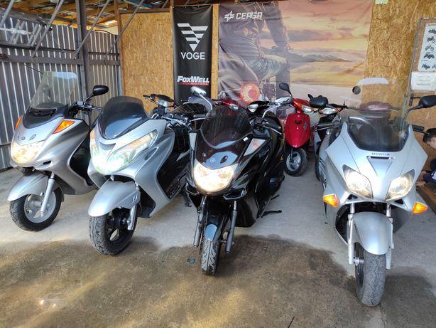 Yamaha majesty 250 макси скутер мотоцикл мопед