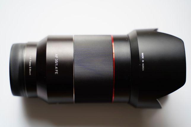 Obiektyw Samyang 35/1.4 Sony FE