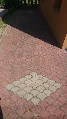 Kostka brukowa łuska z rozbiórki