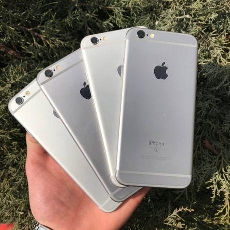 IPhone 6/6s 16/32/64/128GB, стан чудовий, гарантія, для роботи,АКБ 90+