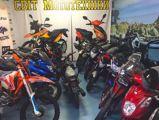 Продам новый мотоцикл Shineray lifan musstang bajaj loncin
