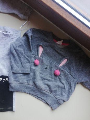 Bluza H&M króliczek 74