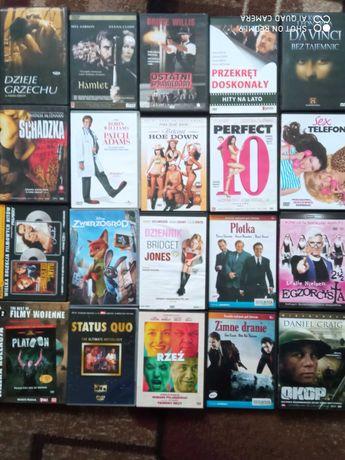zestaw filmów dvd