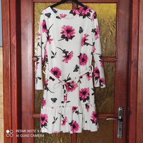 Sukienka kwiaty L wysyłka