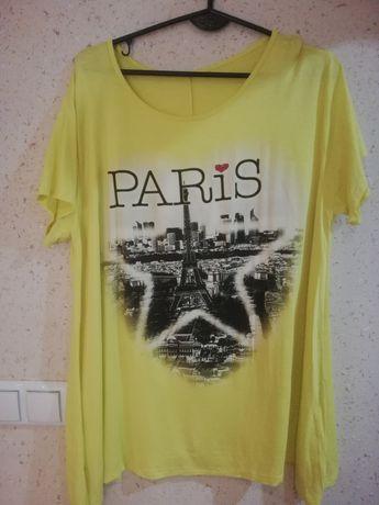 Śliczna żółta bluzeczka r. 48
