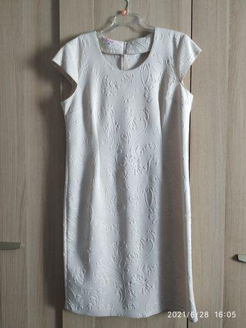 Sukienka r. 46 krótki rękaw