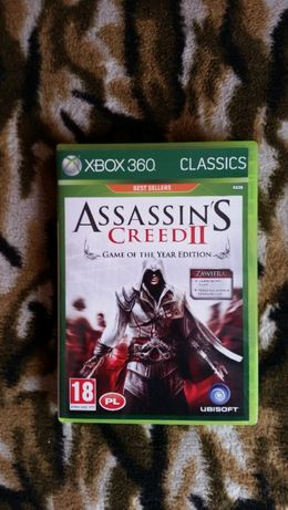 Assassin's Creed II GOTY Xbox 360 PL