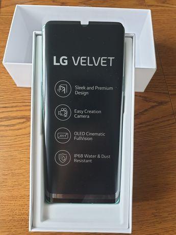 LG Velvet 5G Aurora Green nowy