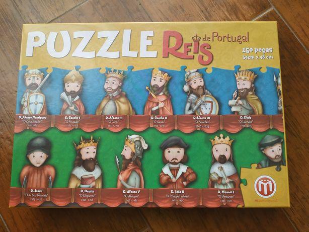 Puzzle Reis de Portugal