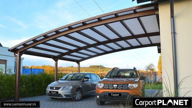 zadaszenie wiata garażowa wiata drewniana garaż na samochód