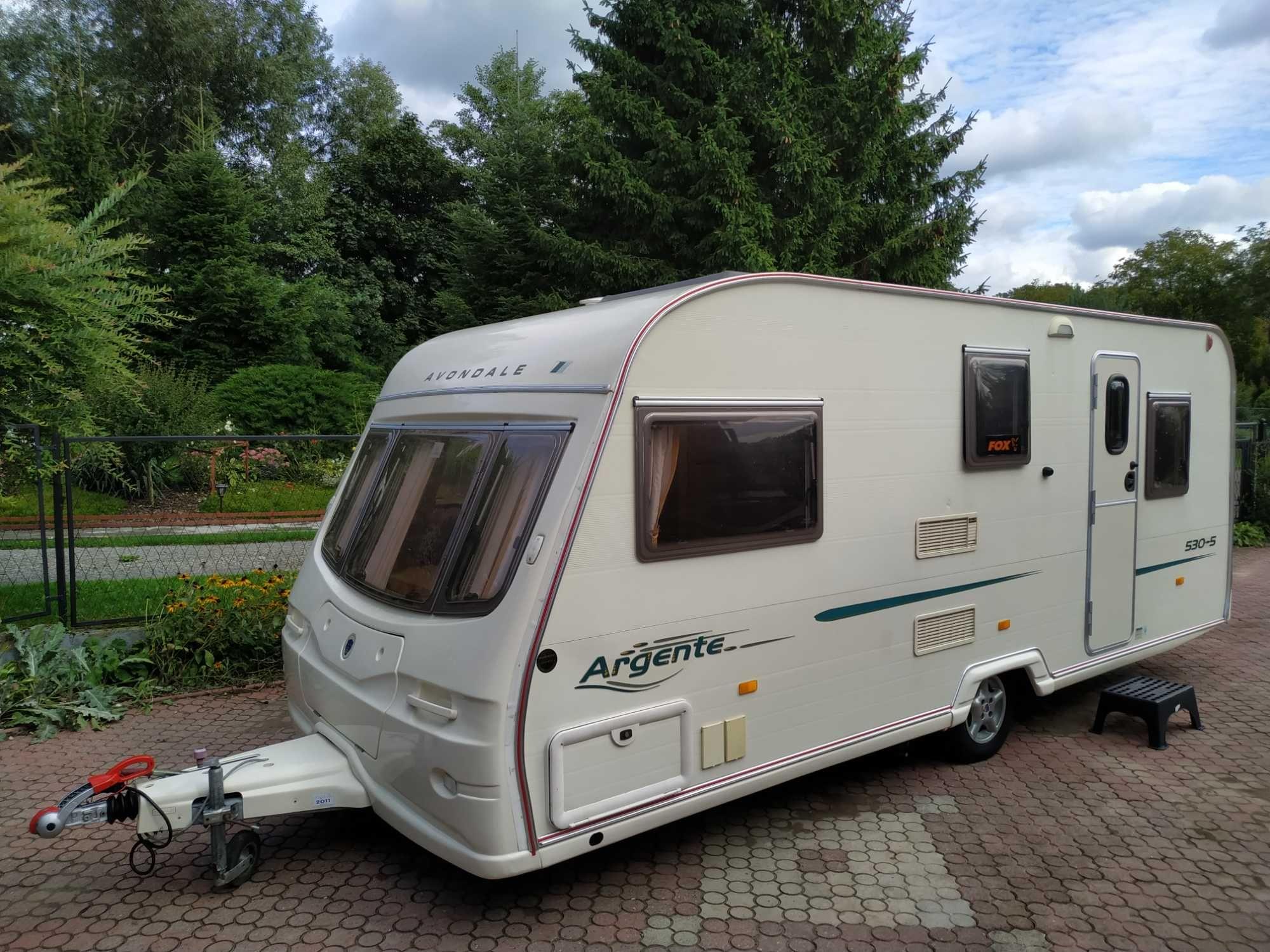 Przyczepa Avondale Argente 530-5