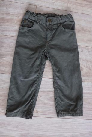 Spodnie H&M khaki rozm.92
