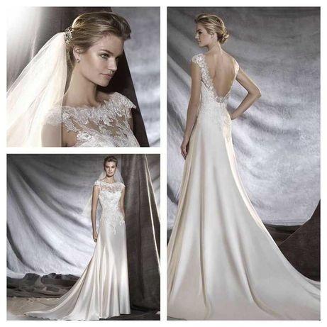 Нежное свадебное платье Pronovias