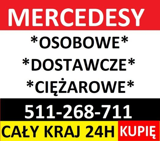 Skup aut Mercedesów,Mercedes Sprinter,Kaczka,Vario,Actros 814,817,917