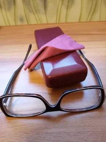 okulary korekcyjne - w odcieniach brązu - wada - 2,0, OP, - 1,75 OL