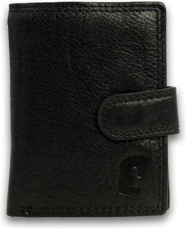 SAFE KEEPERS * Bezpieczny skórzany portfel męski * BEZPIECZNE KARTY