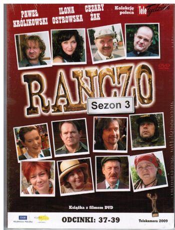 dvd RANCZO serial,12 tom kolekcji,sezon 3,odcinki:37-39,nowe,w folii