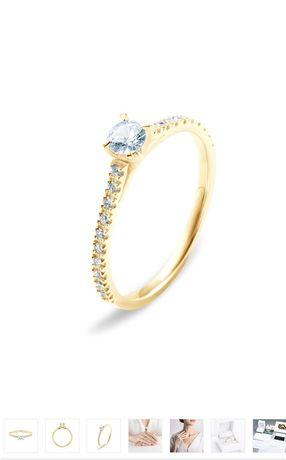 SAVICKi pierścionek zaręcznynowy Share Your Love NOWY r. 9