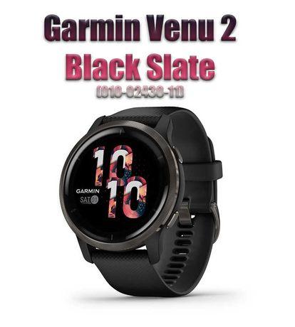 Спортивные часы Garmin Venu 2 Black Slate (010-02430-11)