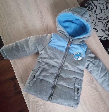 Kurtka zimowa rozmiar 86 dla chłopczyka chłopca chłopięca