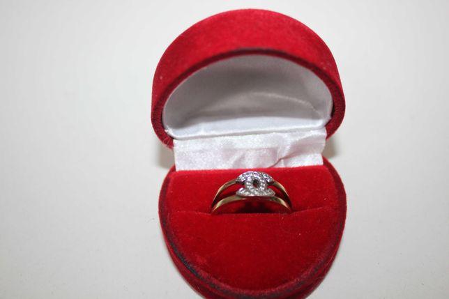 Złoty pierścionek Coco Chanel 8 K