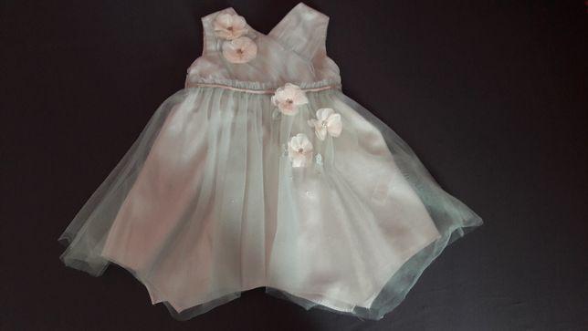 Sukienka balowa, weselna dziewczęca