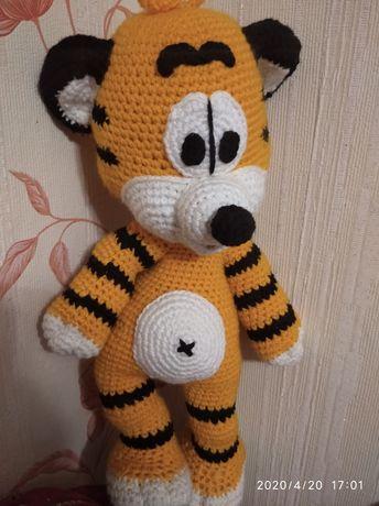Мягкие игрушки тигр