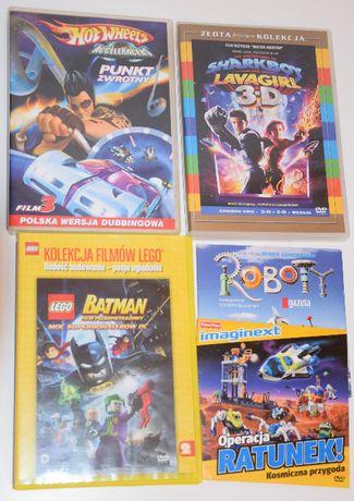 DVD bajki zestaw 5 filmów Lego Batman