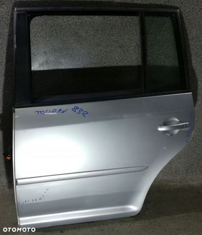 VW Touran 1T 03-10 LA7W drzwi lewe tylne tył