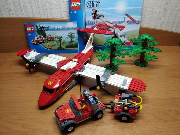Конструктор Lego 4209 набор Лего lego машинки модельки самолёт