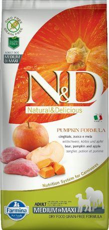 ND 3291 Mini Grain Free Pumpkin Boar Apple 2,5kg