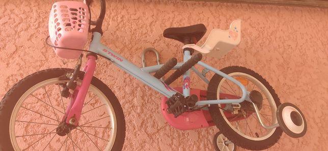 Bicicleta para de criança com oferta de suporte