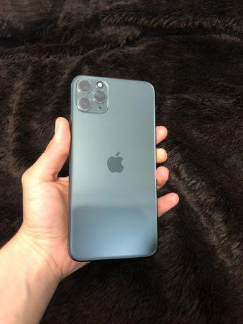 IDEAŁ  iPhone 11 pro max 512GB Midnight Green dowód zakupu, etui Apple