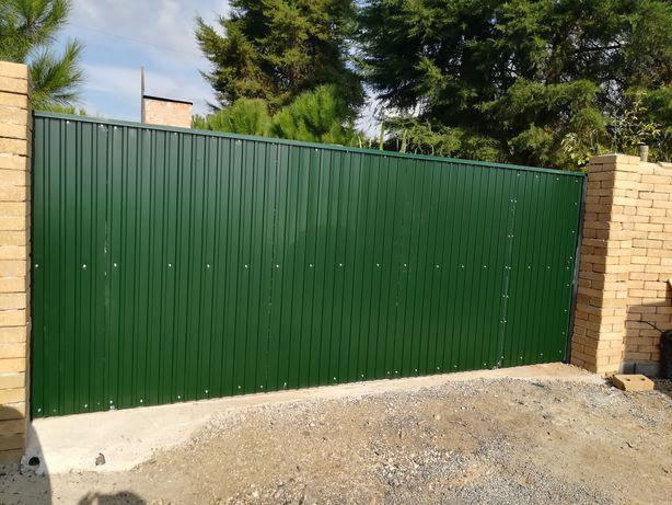 Portões/portas/grades metálicas