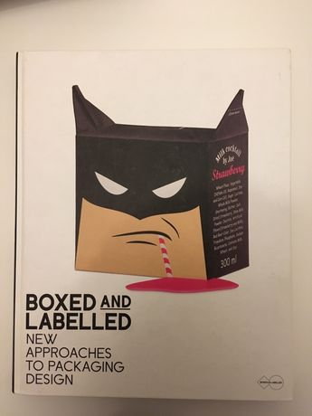 """Livro """"Boxed and Labelled - new approaches to packaging design"""""""