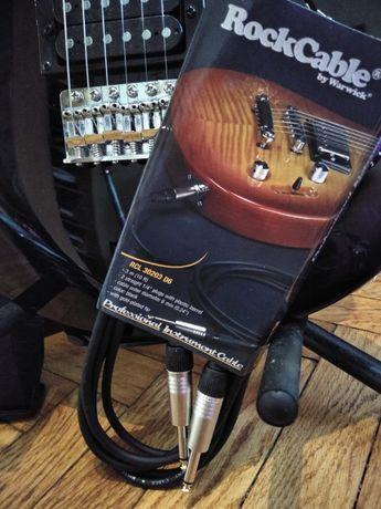 Kabel do gitary elektrycznej 3 metry NOWY, przewód do gitary, gitara