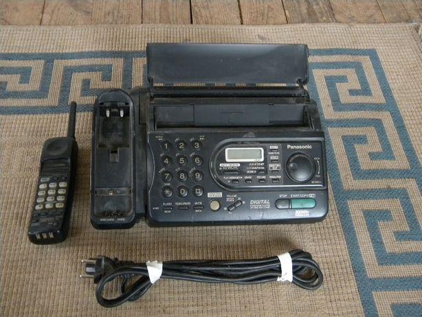 Легендарный,неповторимый,винтажный телефон-Факс с радиотрубкой.Panason