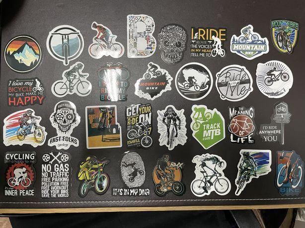 50 Autocolantes / Stickers Bicicleta Bmx Mountain bike Outdoor