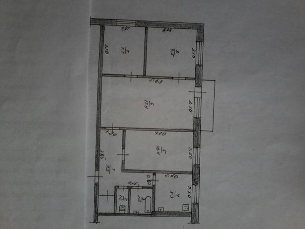 Продам 4-х комнатную к-ру